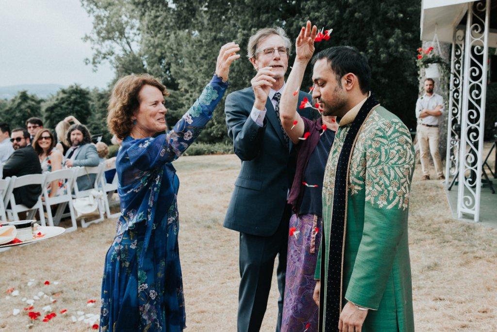 Dutchess Manor Indian wedding ceremony