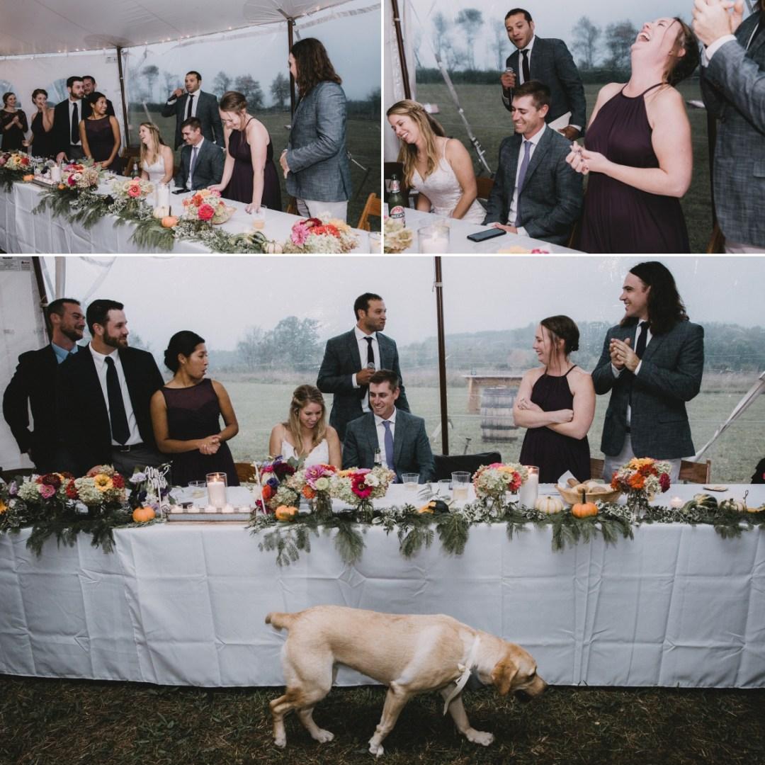unposed hudson valley wedding photography