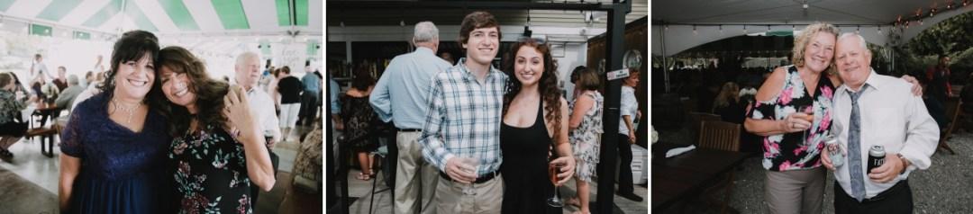 Fishkill wedding reception photos