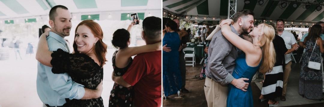 Fun Fishkill wedding reception photos