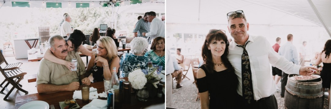 Wedding guests photos at a Fishkill Wedding reception