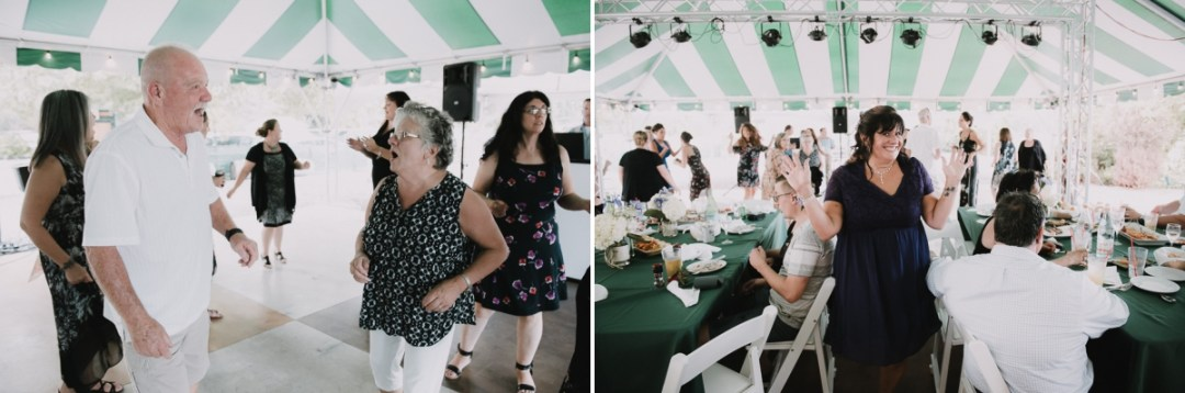 Guests enjoying themselves at a Fishkill Wedding reception