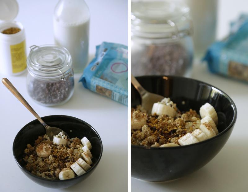Quinoagrød med mandelmælk og ingefær christinebonde blog