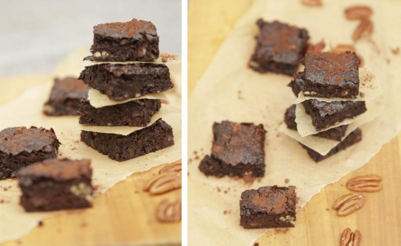 De bedste veganske brownies (glutenfri & sukkerfri)