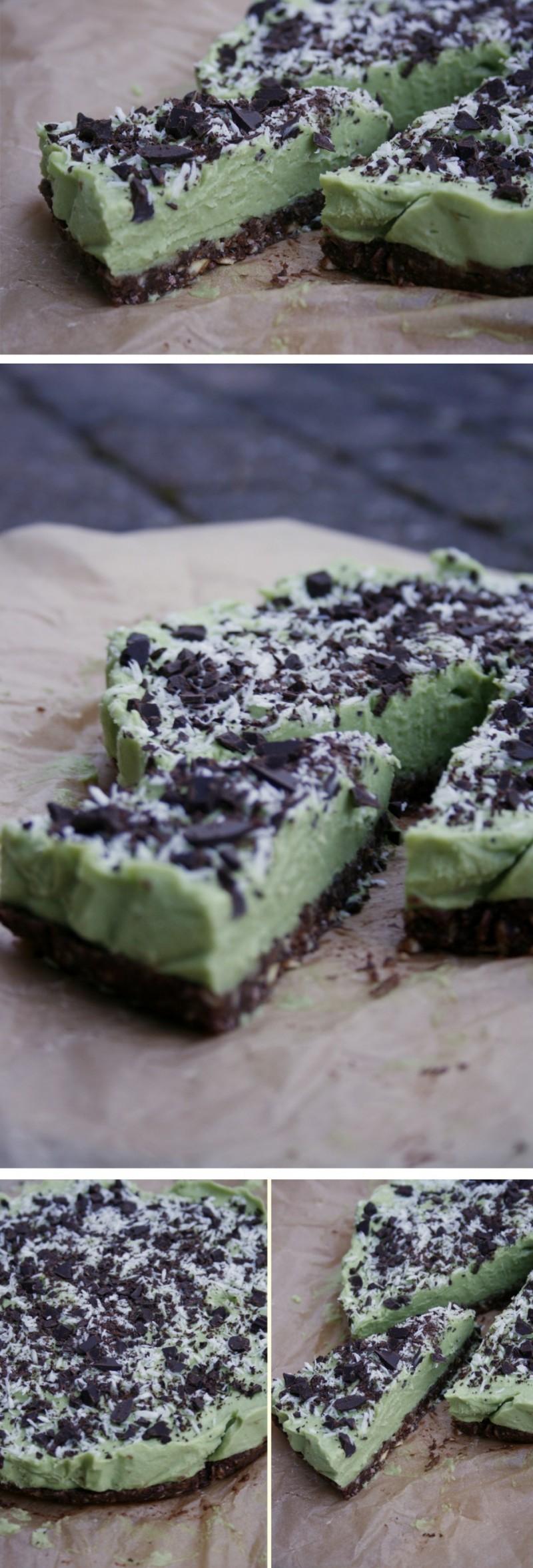 Raw chocolate avocado cheesecake - christinebonde.dk