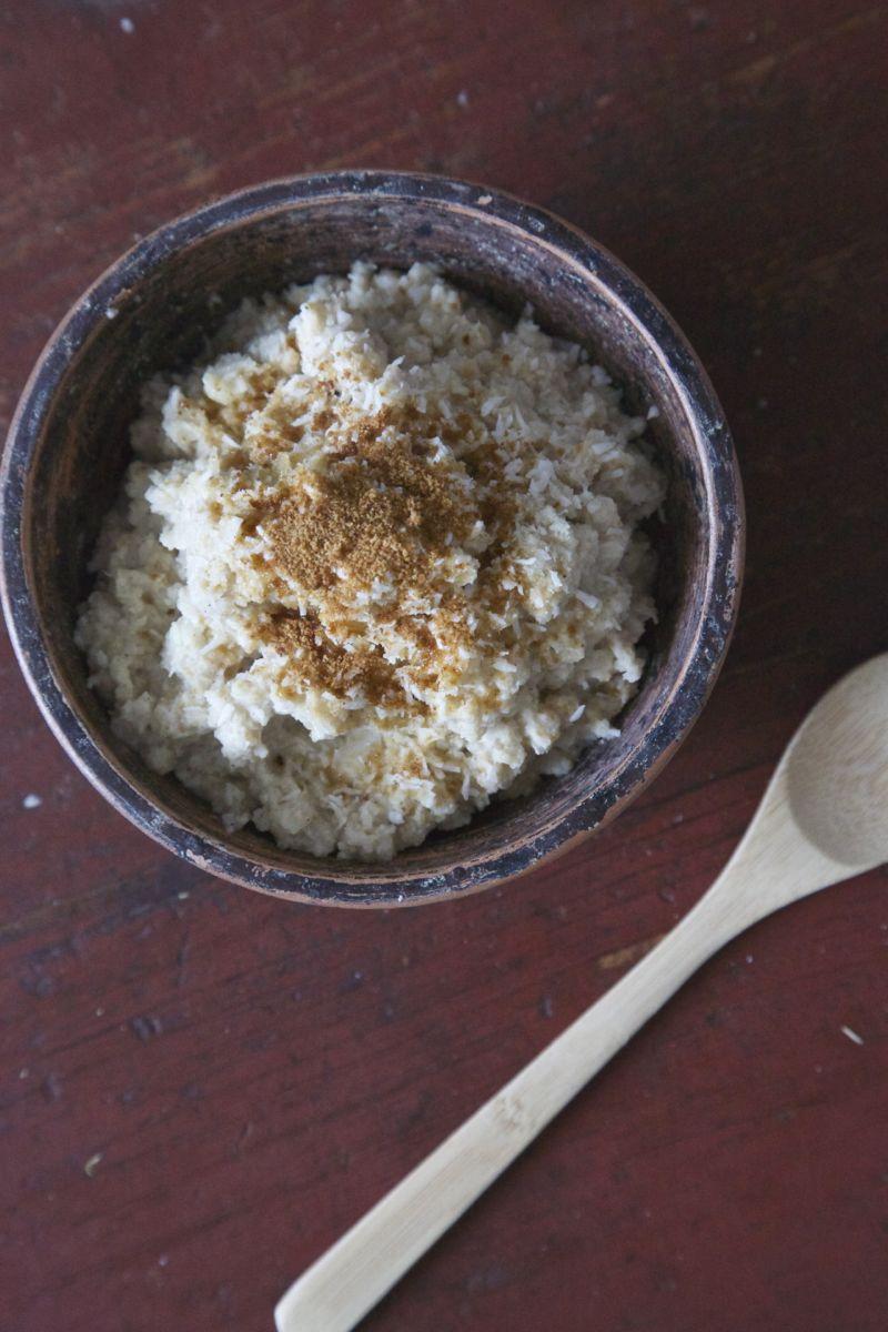 Blomkålsgrød, sund risengrød1