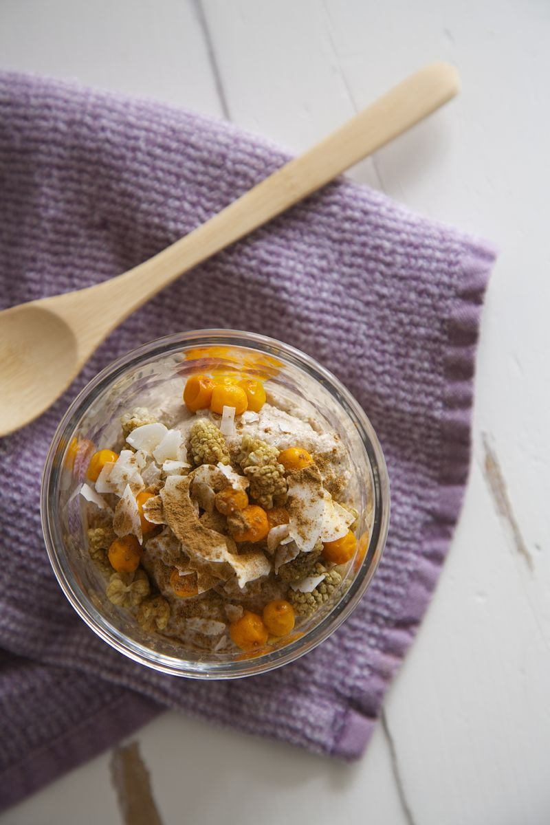 Raw buckwheat porridge - vegan, glutenfree, sugarfree4