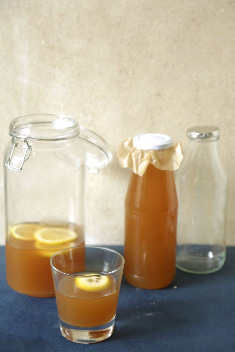 Basisopskrift på vandkefir - drikkeklar probiotika1