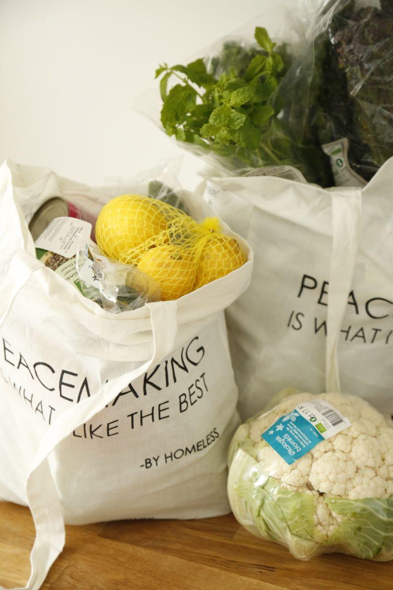 Et eksempel på mine indkøb - og noget om at dømme folk ud fra spisevaner