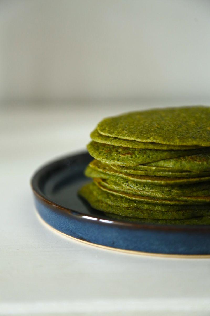 Pandekager med brændenælder (som passer både til det søde og det salte køkken)3