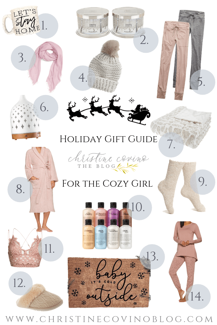 Are you looking for something extra cozy this holiday season? Check out the Cozy Girl Holiday Gift Guide for the perfect gift this year!