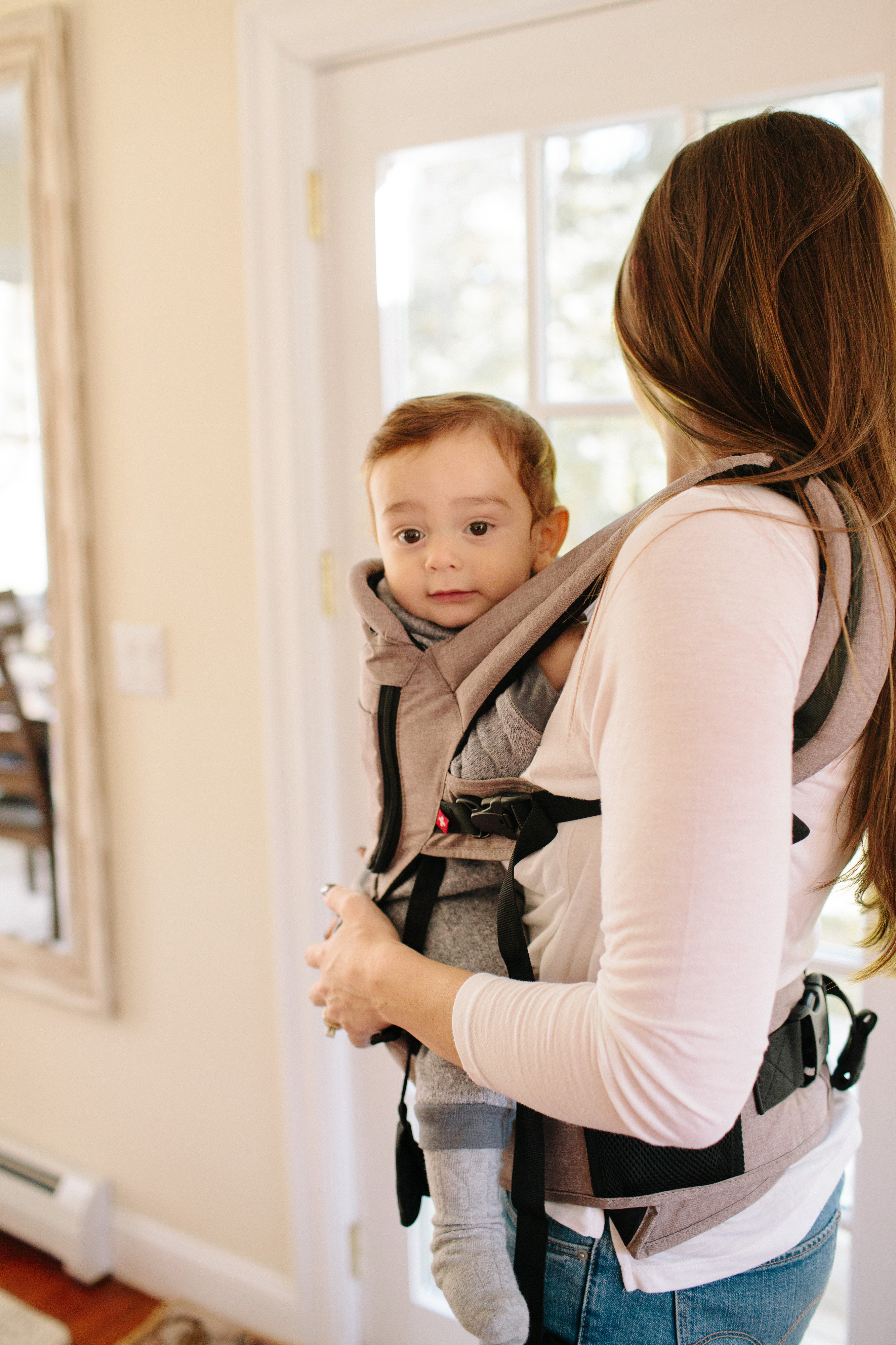 Babywearing is one of my favorite things about having a newborn. There are so many benefits of babywearing. Check them out here!