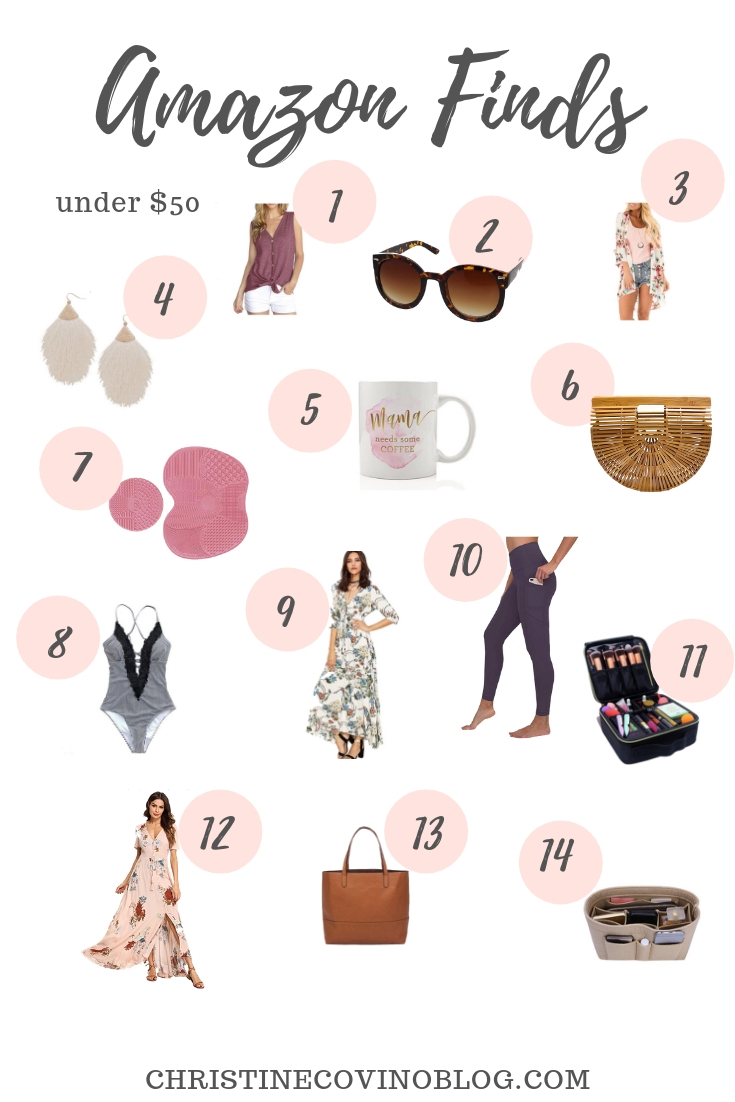 New York Life and Style Blogger, Christine Covino, lists her top twenty Spring Amazon finds for style and beauty. Click here to check out the best deals!