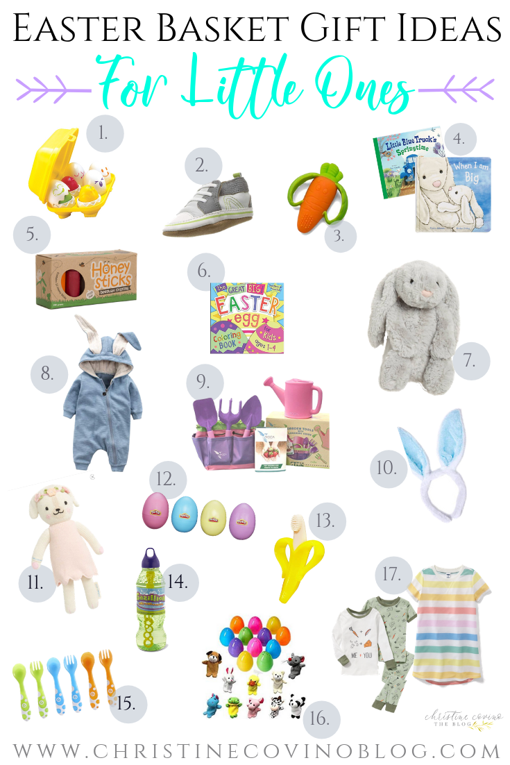 Are you on a mission to help the Easter bunny this year? Well, stop on by because we have some great non-candy easter basket gift ideas for little ones!