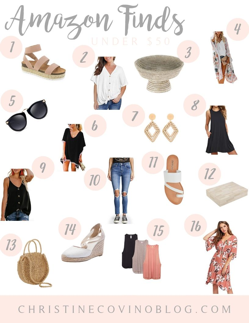 We are loiving Amazin for style right now! And why not? Check out our latest Amazon Style finds! Don't forget to grab Prime for free shipping!