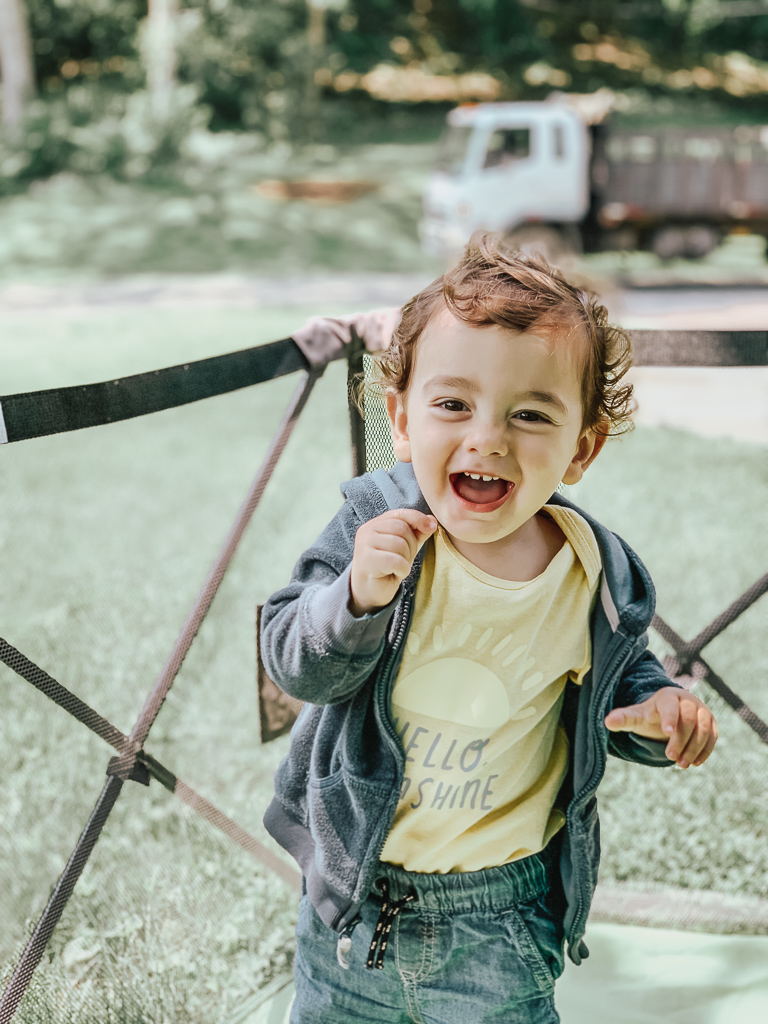 Can't believe Luca is 16 Months old! Check out our 16 month old update with activities he loves, sleeping schedules, and more!