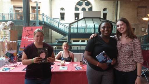 Left to right: Grace, Me, Racinda, Ashley
