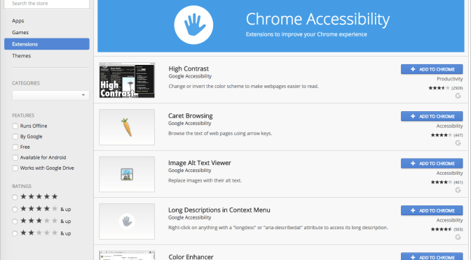 Accessibility and Chrome