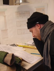 Architecture Students at Work