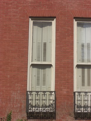 Tall vertical window in Annapolis