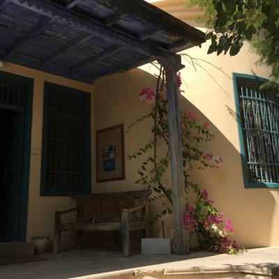 Blue House at Khalid Shoman center