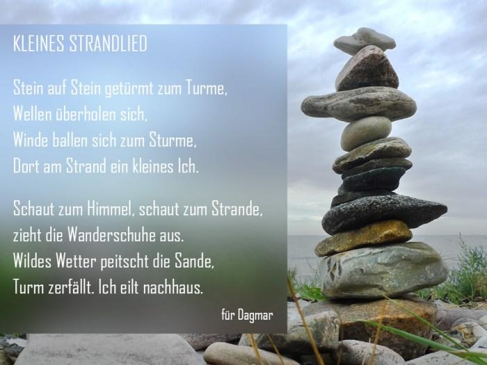 Kleines Strandlied || Gedicht und Foto KERNgeschäft Christine Kern