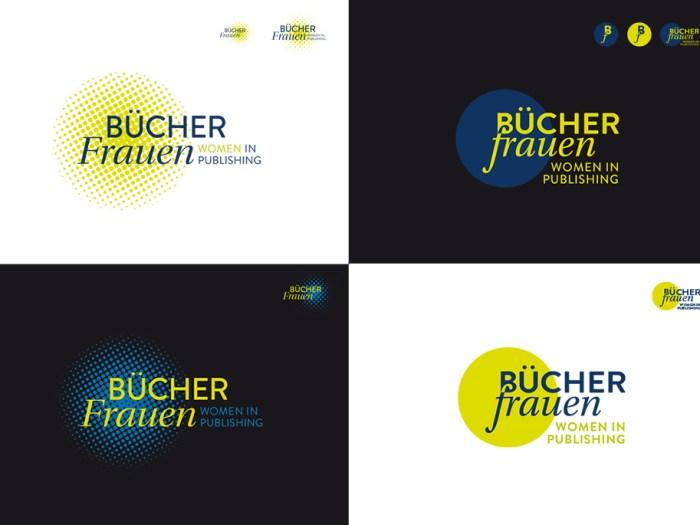 Zwei Logodesigns für den BücherFrauen e.V.