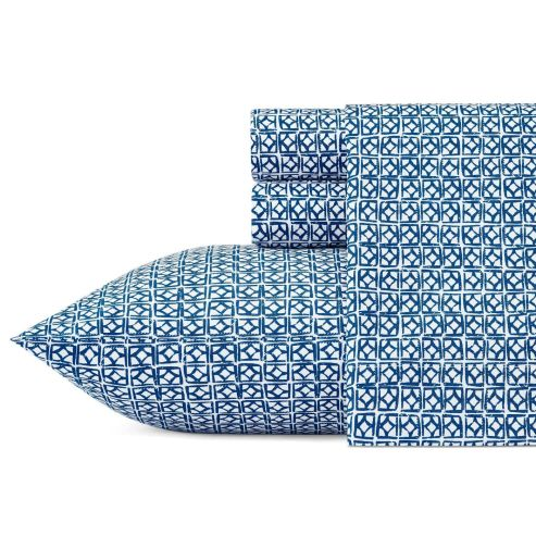 Design Ninja, Christine Kohut Interiors, Trina Turk cotton percale sheets for sale at Target