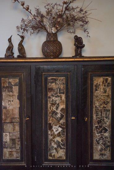 customisation de meuble ancien
