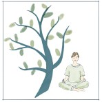 Mindfulness 2 grønn dame