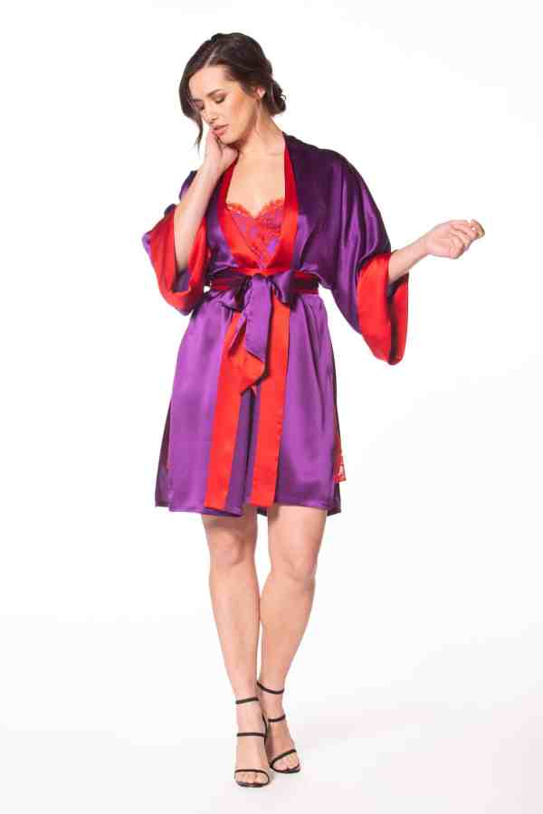 Moulin Rouge Short Robe