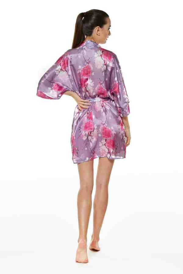 Spring Posy Short Robe
