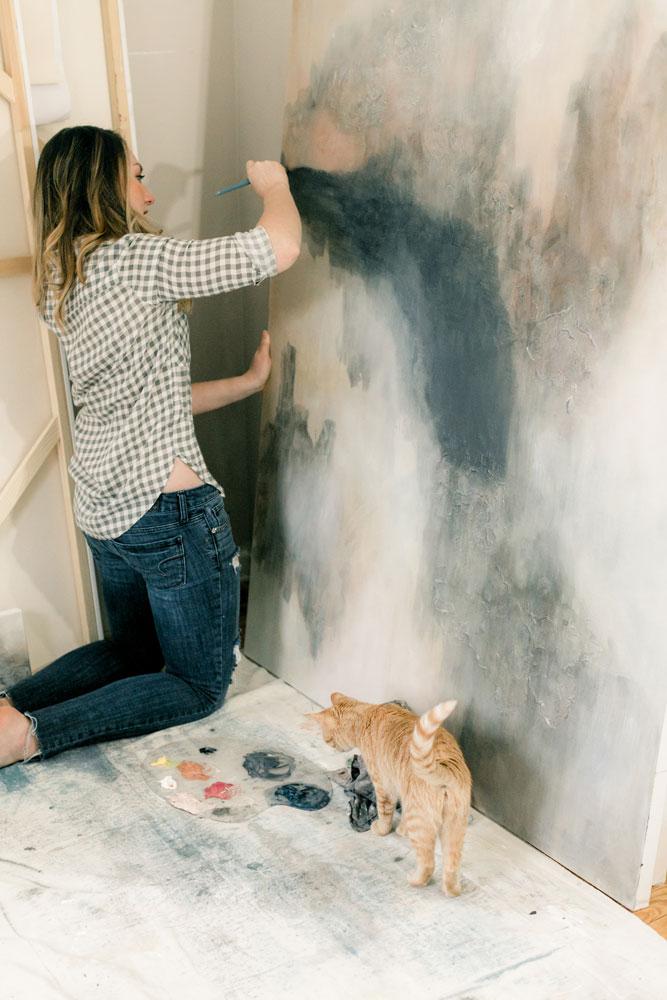 Christine Olmstead Klaire Dixius photoshoot