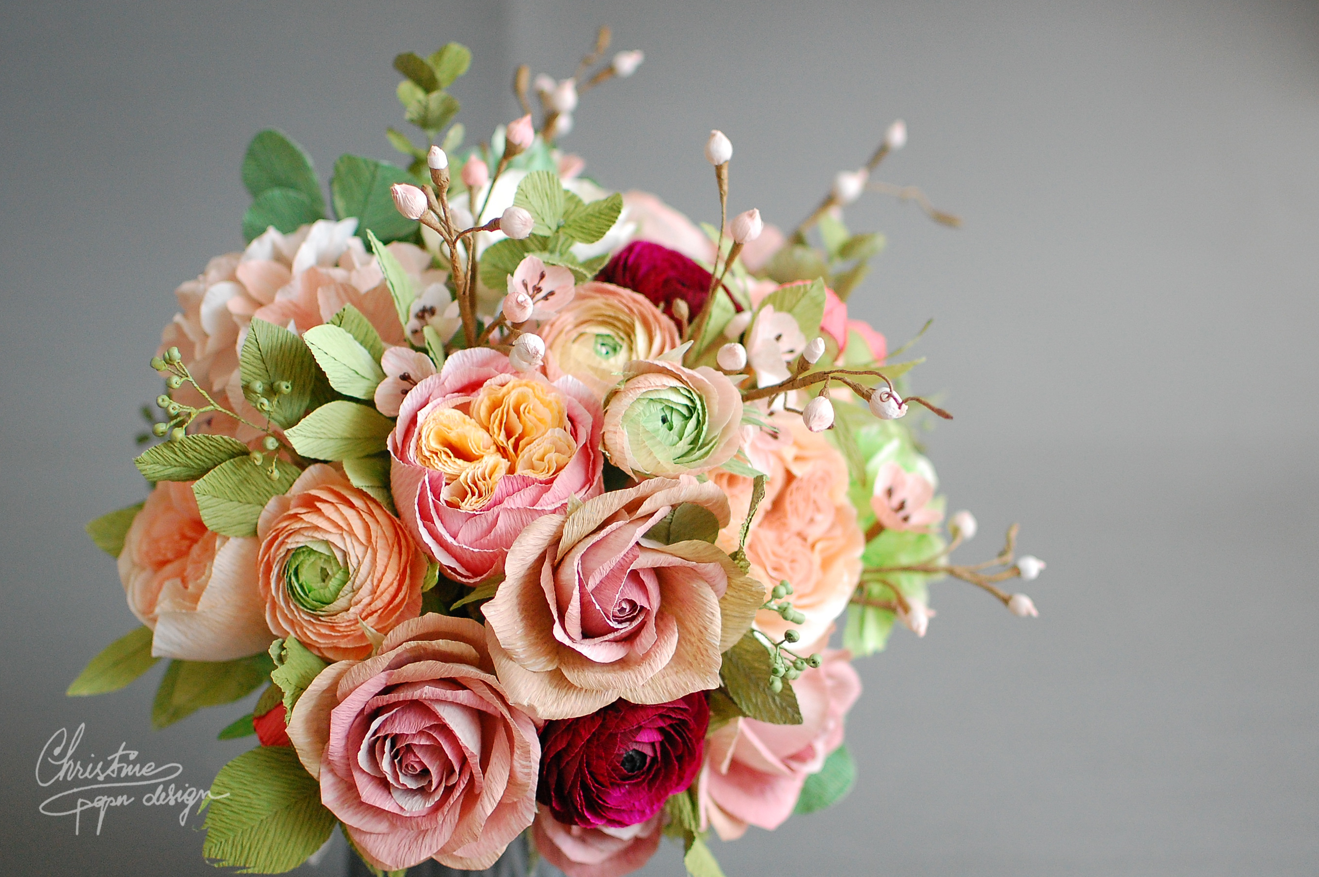 Paper Flowers For A Fairytale Wedding!
