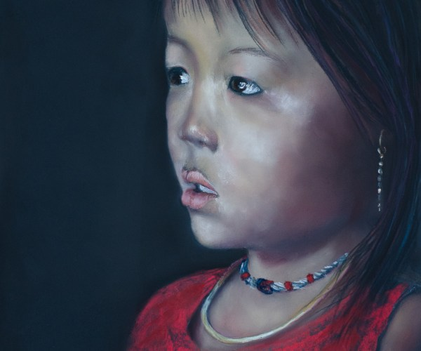 Petite fille du Vietnam