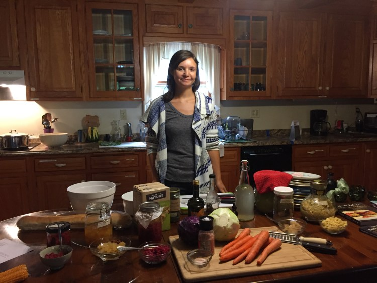 Fox Haven Farm vegan cooking