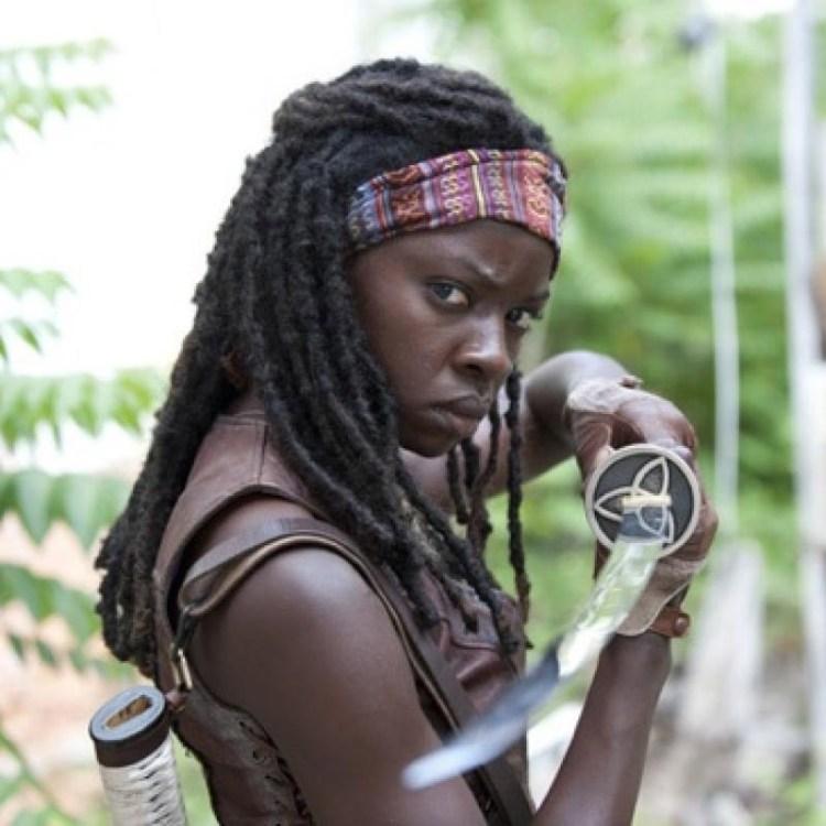 Michonne from The Walking Dead