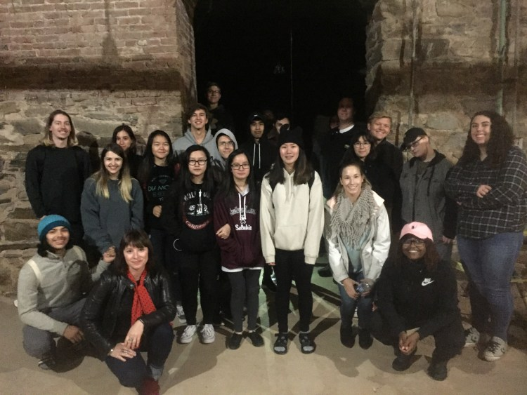 Baltimore catacombs.