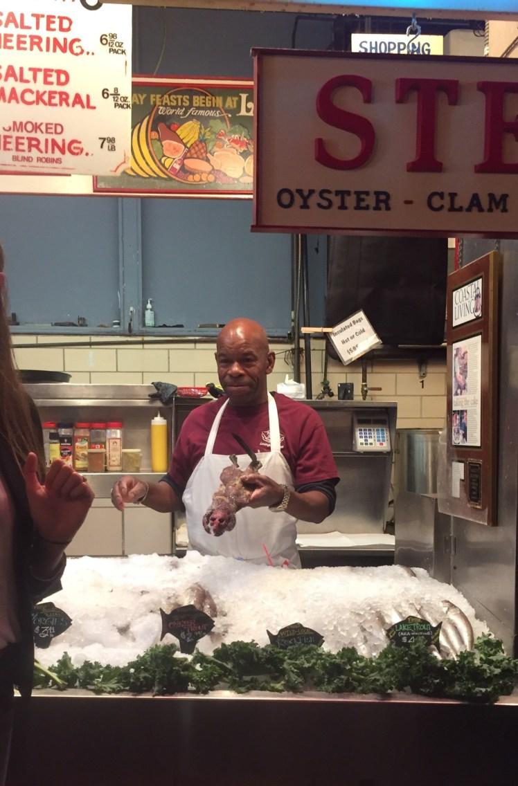 Baltimore Lexington Market Faidley's muskrat