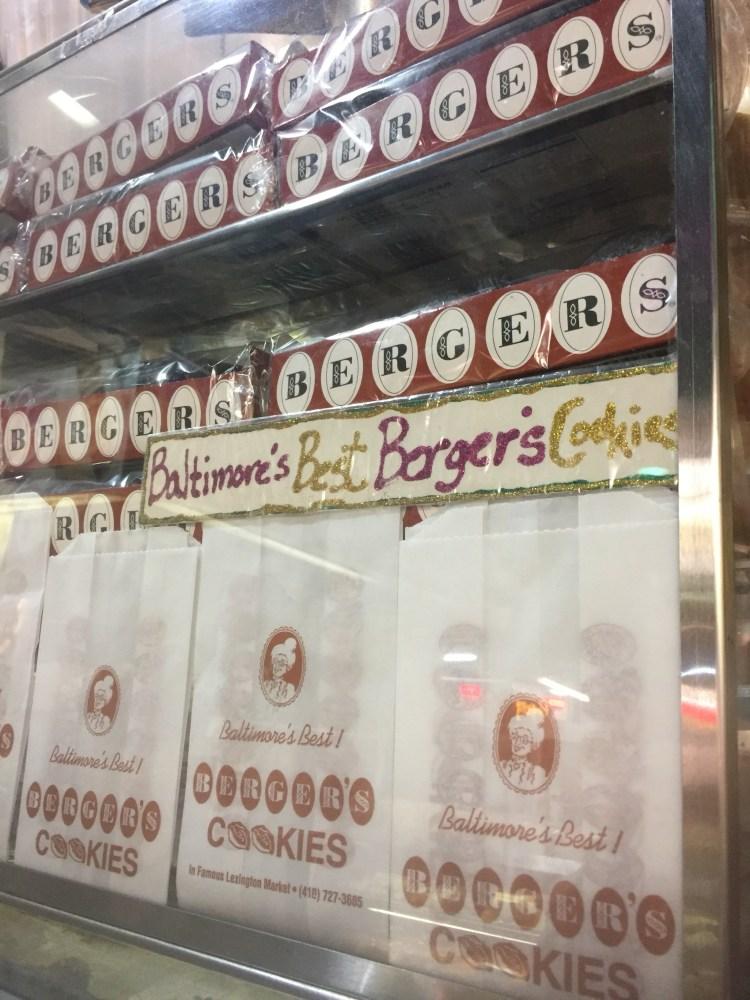 Baltimore Lexington Market Berger's cookies
