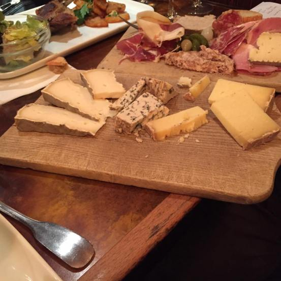 French cheese tray Paris