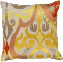 Ikat Pattern Accent Pillow