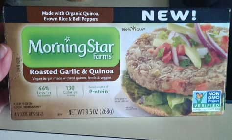 Morning Star Garlic and Quinoa