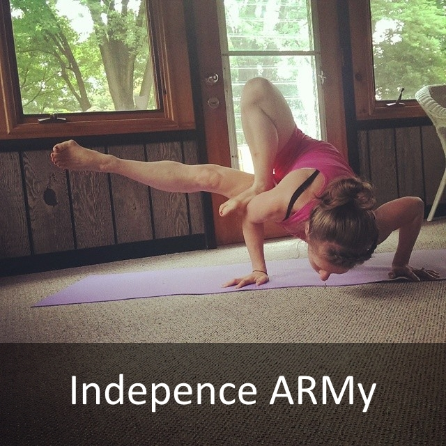 Independence ARMy Yoga Challenge