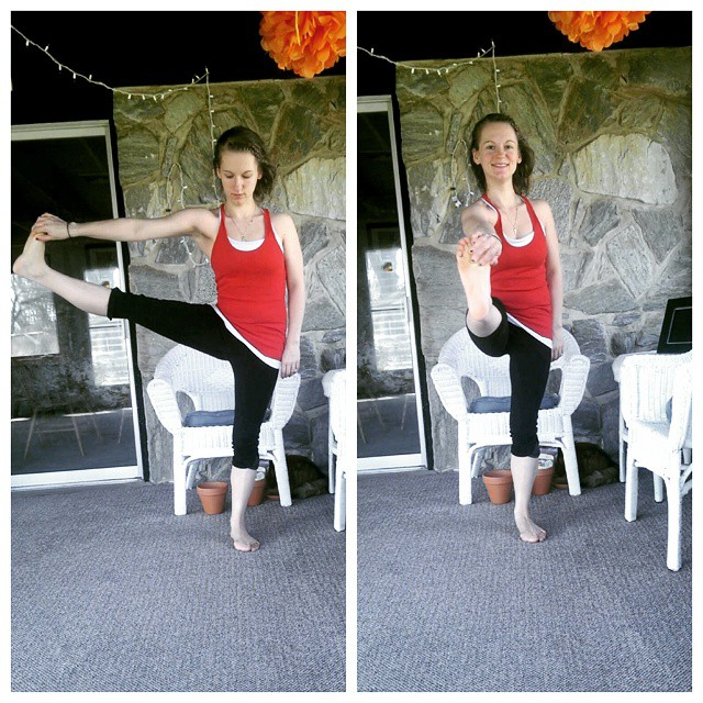 Day 6: Utthita Hasta Padangusthasana, Extended Hand-To-Big-Toe Pose