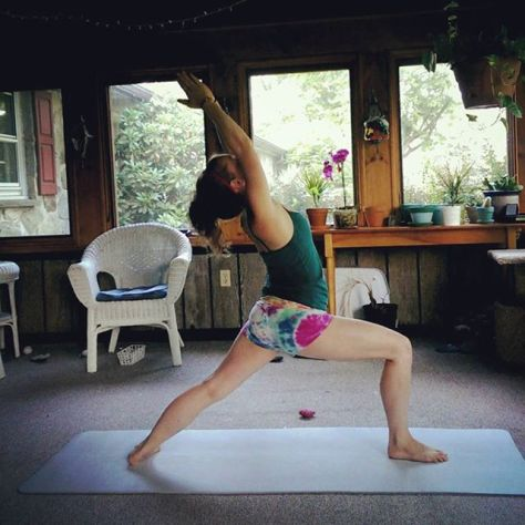 Day 1: Virabhadrasana I, Warrior I