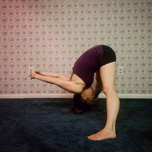 Day 6: Prasarita Padottanasana C, Wide Legged Forward Bend