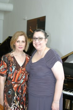 Ruth Stone Holt & Christine at Steinway & Sons Recital