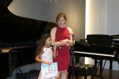 Jade introduction at Steinway & Sons Recital