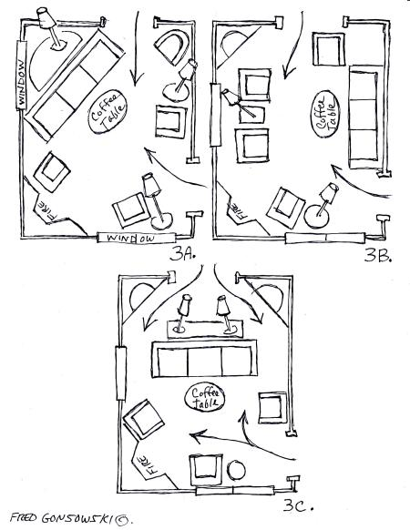 awkward corner fireplace furniture layout 3